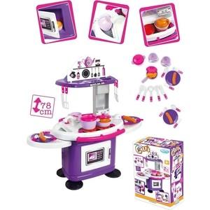 Игровой набор Mochtoys Кухня 78см со столиками+26 предметов
