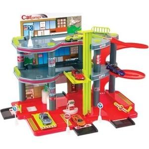 Игровой набор Mochtoys Парковка+машинка