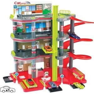 Игровой набор Mochtoys Парковка 4 уровня+ машинка