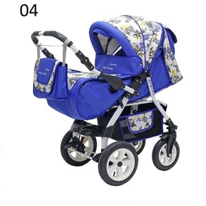 Коляска прогулочная Polmobil KARINA PCO 04 синий