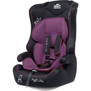 Автокресло Rant Comix группа 1-2-3 (9-36 кг) Purple / фиолетовый