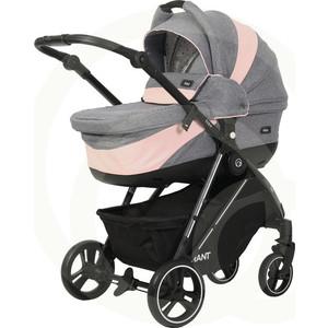 Коляска 2 в 1 Rant детская NEO RA143 Grey / Pink