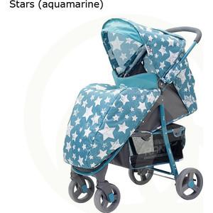 Коляска прогулочная Rant KIRA RA055 Stars (aquamarine)