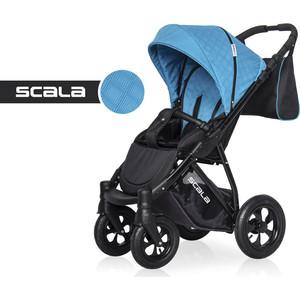 Коляска прогулочная Riko Basic SCALA 08 графит-голубой