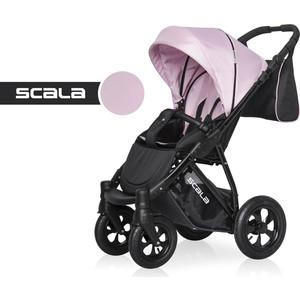 Коляска прогулочная Riko Basic SCALA 09 графит-розовый