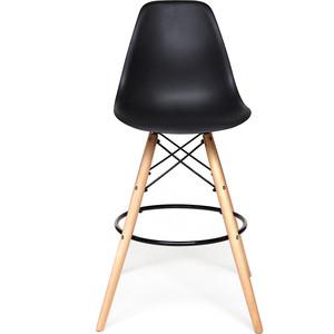Стул TetChair Secret De Maison Cindy Bar Chair (mod. 80) ножки натуральный, перекладины, сиденье и спинка черный