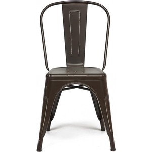 цена Стул TetChair Secret De Maison LOFT CHAIR (mod. 012) металл, коричневый / brown vintage онлайн в 2017 году