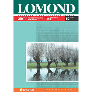 Lomond бумага глянцевая/матовая (0102027)