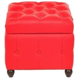 Пуф Euroson Брага 1 (красный)