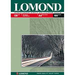 Lomond бумага матовая 2х сторонняя (0102004) цена