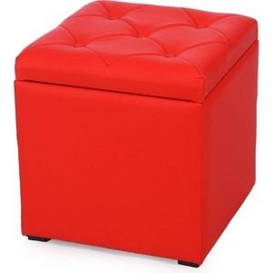 Пуф Euroson Тони 2 (красный)