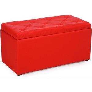 Пуф Euroson Тони 3 (красный)