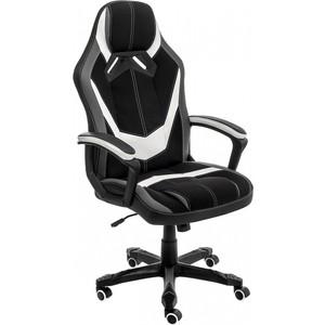 Кресло Woodville Bens серое/черное/белое