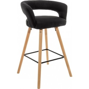 Барный стул Woodville Mars черный