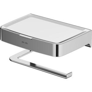 Держатель туалетной бумаги Am.Pm Inspire 2.0 с полкой (A50A341500)