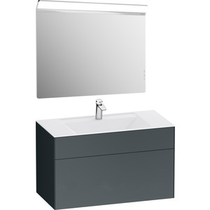 Мебель для ванной Am.Pm Inspire 2.0 100 подвесная, графит