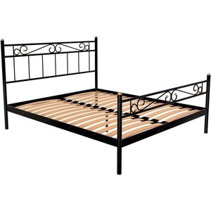 Кровать Стиллмет Эсмеральда белый 120x200 кровать стиллмет аркон белый 120x200