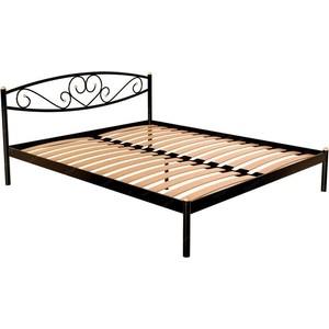 Кровать Стиллмет Мемори черный 160x200 кровать стиллмет аркон черный 160x200