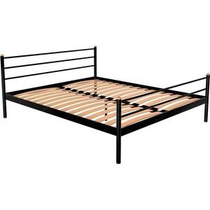 Кровать Стиллмет Экспо коричневый 8017 140x200 фото