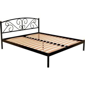 Кровать Стиллмет Эвелин черный 160x200 кровать стиллмет аркон черный 160x200