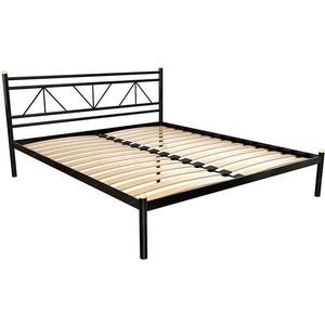 Кровать Стиллмет Ларус коричневый 8019 120x200 кровать орматек bono глазго коричневый 120x200