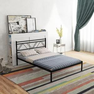 Кровать Стиллмет Аркон серый металлик 140x200