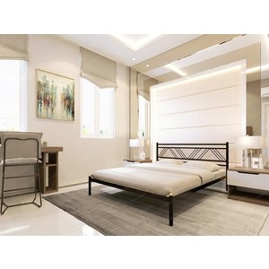Кровать Стиллмет Аркон бежевый 160x200