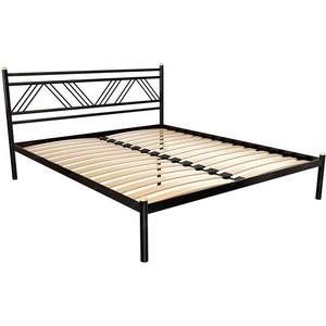 Кровать Стиллмет Аркон красный лак 160x200
