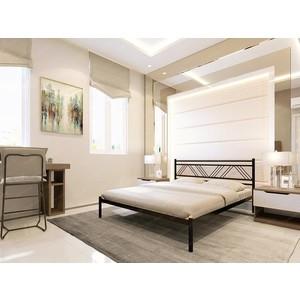 Кровать Стиллмет Аркон серый металлик 180x200