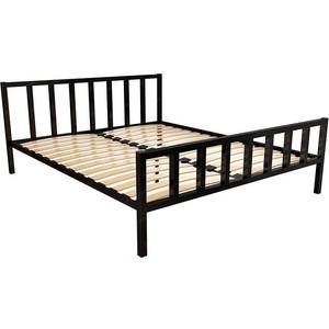 Кровать Стиллмет Тринго черный 160x200 кровать стиллмет аркон черный 160x200