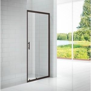 Душевая дверь Cezares Eco 190x120 прозрачный, черный (ECO-O-BF-1-120-C-NERO)