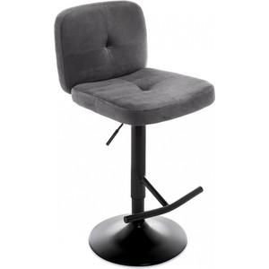 Барный стул Woodville Hoom серый