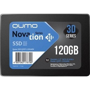 SSD накопитель Qumo SSD 120GB QM Novation Q3DT-120GAEN