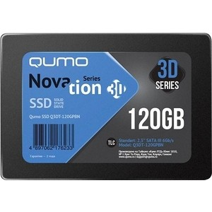 цена на SSD накопитель Qumo SSD 120GB QM Novation Q3DT-120GPBN