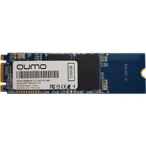 SSD накопитель Qumo 256GB M.2 QM Novation Q3DT-256GAEN-M2