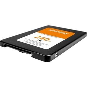 SSD накопитель SmartBuy SSD 240Gb Jolt SB240GB-JLT-25SAT3 ssd накопитель smartbuy revival 2 sb090gb rvvl2 25sat3 90gb sata 2 5