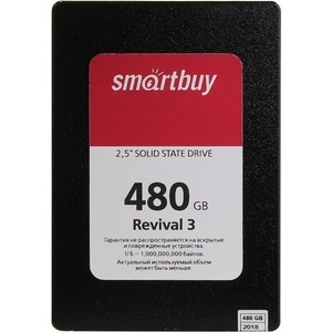 SSD накопитель SmartBuy 480Gb Revival 3 SB480GB-RVVL3-25SAT3