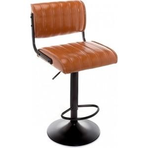 Барный стул Woodville Kuper loft коричневый