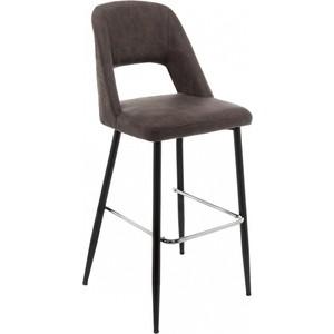 Барный стул Woodville Lido серый