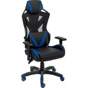 Компьютерное кресло Woodville Markus черное/синее printio синее сердце