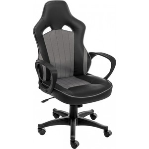 Компьютерное кресло Woodville Modus серое/черное компьютерное кресло woodville danser серое