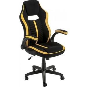 Компьютерное кресло Woodville Plast черный/желтый