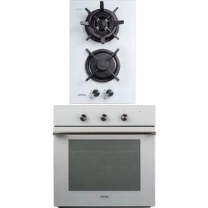 лучшая цена Встраиваемый комплект Korting HGG 382 CTW + OKB 470 CMW