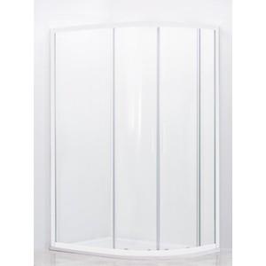 Душевой уголок Cezares Relax 100x80 прозрачный, белый (RELAX-RH-2-100/80-C-Bi) фото