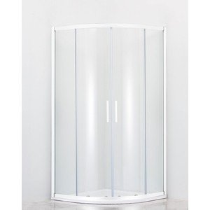 Душевой уголок Cezares Relax 80x80 Punto, белый (RELAX-R-2-80-P-Bi)