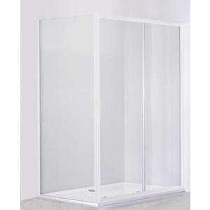 Душевой уголок Cezares Relax 130x80 прозрачный, белый (RELAX-AHF-1-130/80-C-Bi)