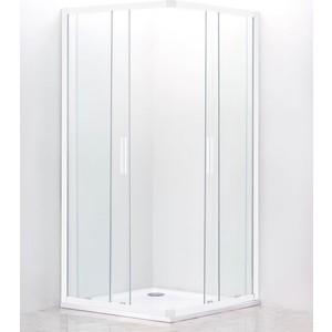 Душевой уголок Cezares Relax 100x80 прозрачный, белый (RELAX-AH-2-100/80-C-Bi) фото