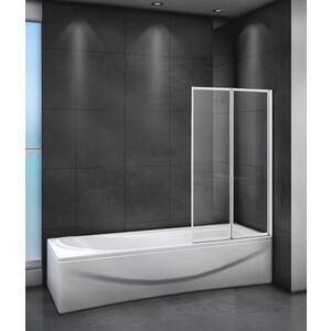 Шторка для ванной Cezares Relax 80x140 Punto, белая, правая (RELAX-V-2-80/140-P-Bi-R)
