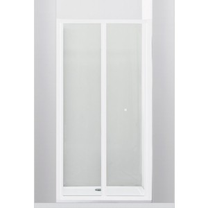 Душевая дверь Cezares Relax 80x185 прозрачная, белая (RELAX-BS-80-C-Bi) фото