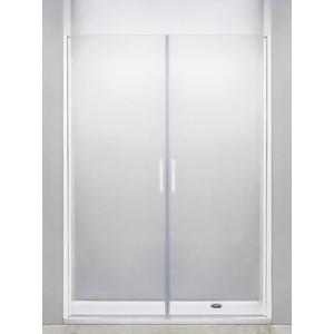 Душевая дверь Cezares Relax 80x185 прозрачная, белая (RELAX-B-2-80-C-Bi)